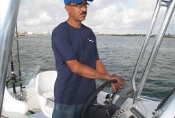 Boat ridding